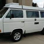 1988 vw vanagon westfalia camper tiico engine 187k miles denver co auction