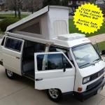 1988 VW Vanagon Westfalia Camper w/ 2.0L Tiico Engine - Auction in Denver, CO
