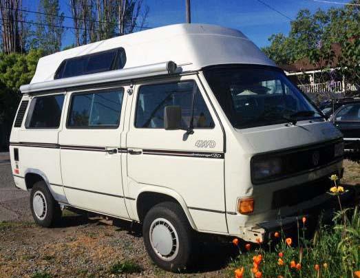 1990 VW Vanagon Syncro Adventure Wagon - $19k in San Rafael, CA