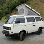 Salvaged Syncro - 1990 VW Vanagon Westfalia Camper Auction in Sa