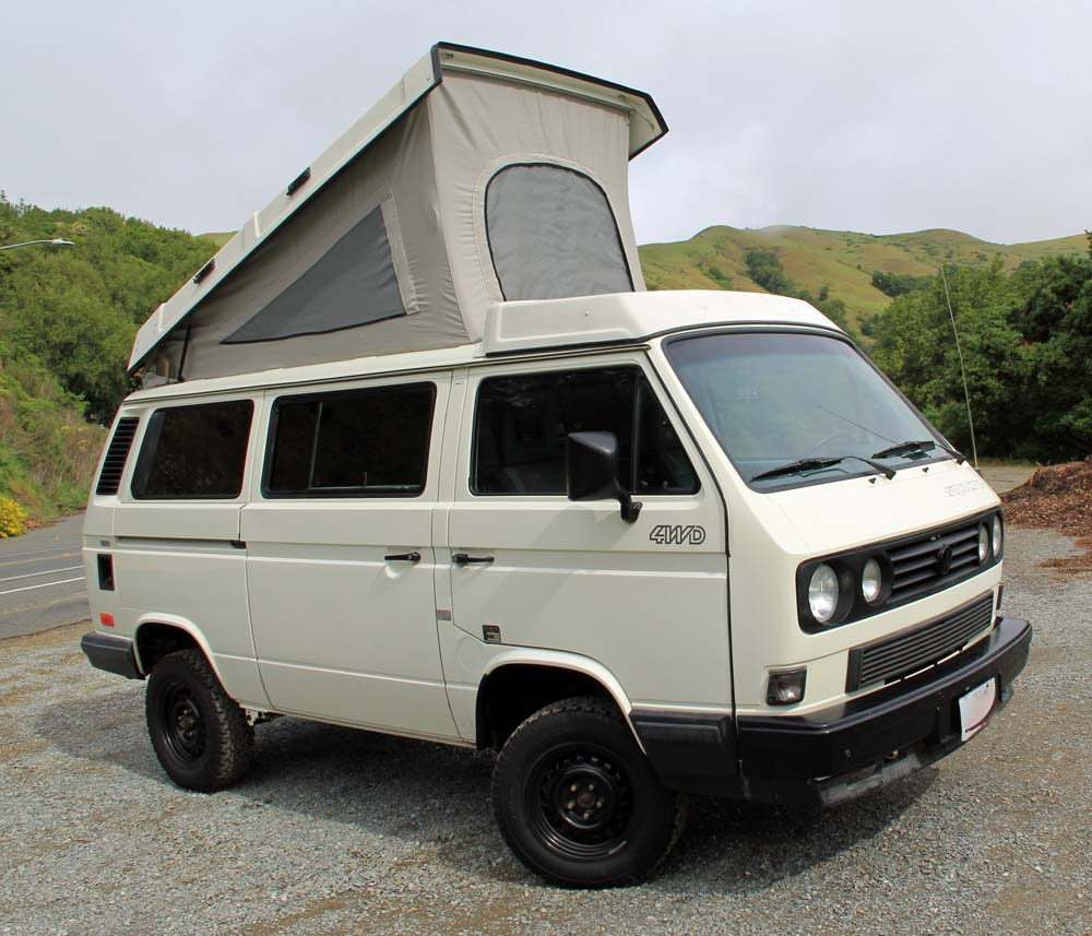 Salvaged Syncro 1990 Vw Vanagon Westfalia Camper Auction In Sa