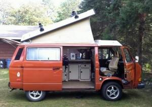 1983 Vw Vanagon Westfalia Camper W 2 2l Subaru 20k In