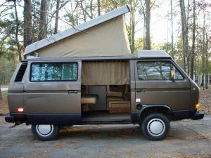 1985 Vw Vanagon Westfalia Weekender Automatic 4 500 In