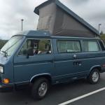 1987 vw vanagon westfalia camper auction sf ca fresh paint 128k miles 2