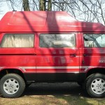 1989 vw vanagon tdi syncro high top westfalia nj auction red
