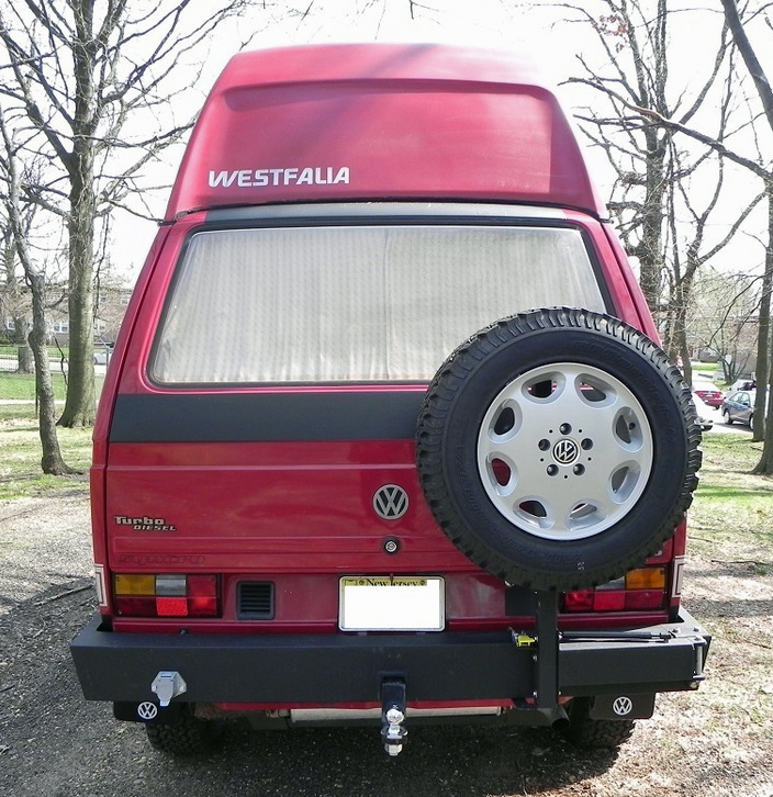 Import! 1989 VW Vanagon Syncro 1 6L Turbo Diesel Westfalia