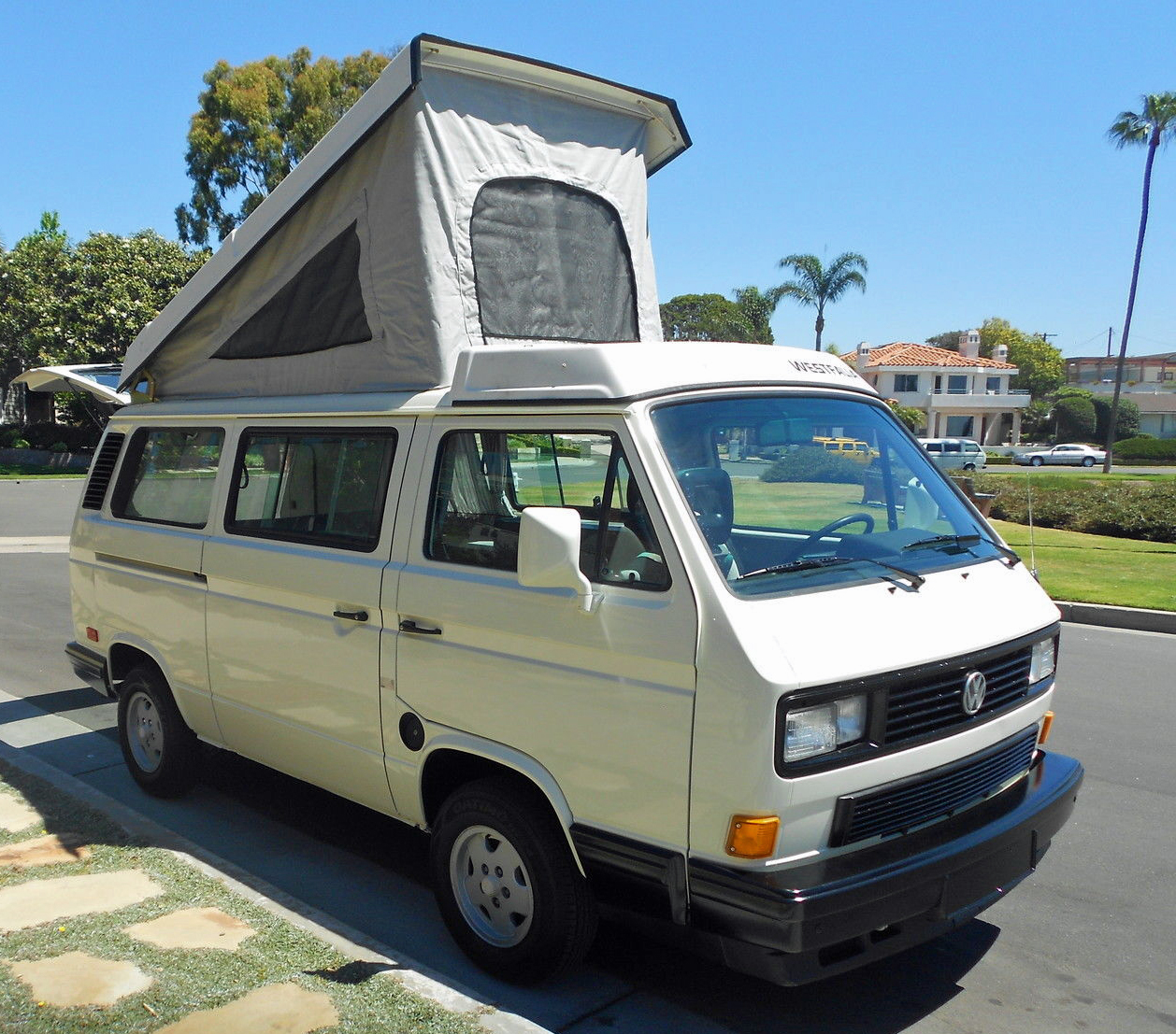 1989 Vw Vanagon Westfalia Camper Auction In Huntington