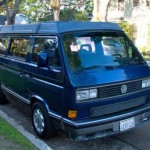 1990 vw vanagon westfalia multivan 16k los angeles blue 2