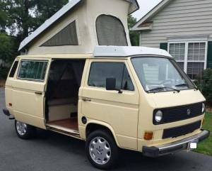 1984 VW Vanagon Westfalia Camper - 139k - $6,400 in Fredericksburg, Virginia
