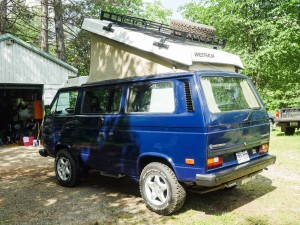 1986 VW Vanagon Syncro Subaru EJ22 Westfalia Camper - Auction in Quebec, CA