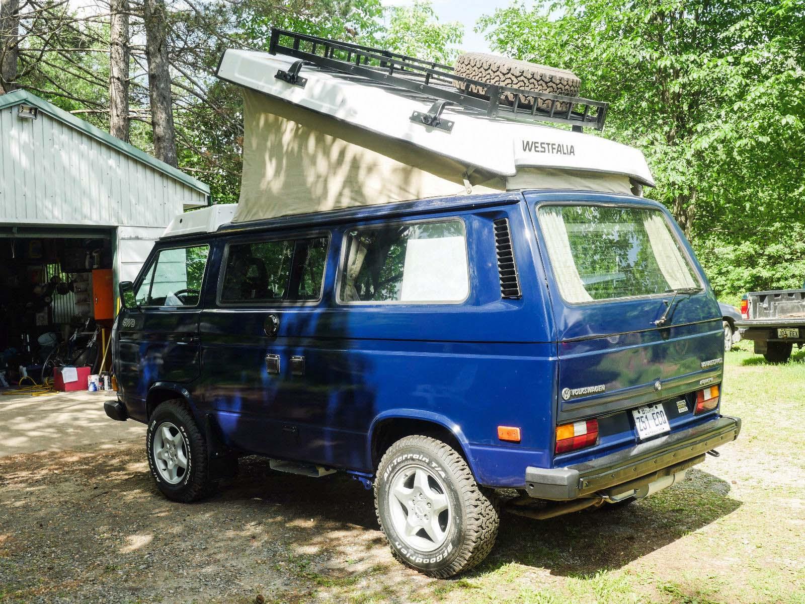 86 Subaru Syncro Westy Camper - $32k in Quebec, CA