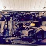 1987 vw vanagon syncro hightop ketchum id 32k white 2L engine 11