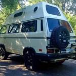1987 vw vanagon syncro hightop ketchum id 32k white 2L engine 2
