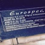1987 vw vanagon syncro hightop ketchum id 32k white 2L engine 5