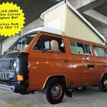 1982 vw vanagon diesel westfalia camper aussan brown akron ohio auction 52
