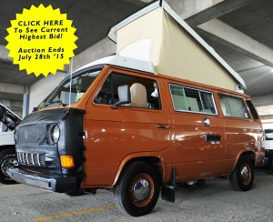 1982 VW Vanagon Diesel Westfalia Camper - 13k Original Miles - Auction In Akron, Ohio