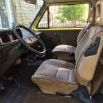 1982 vw vanagon westfalia high top turbo diesel yellow auction mass 2