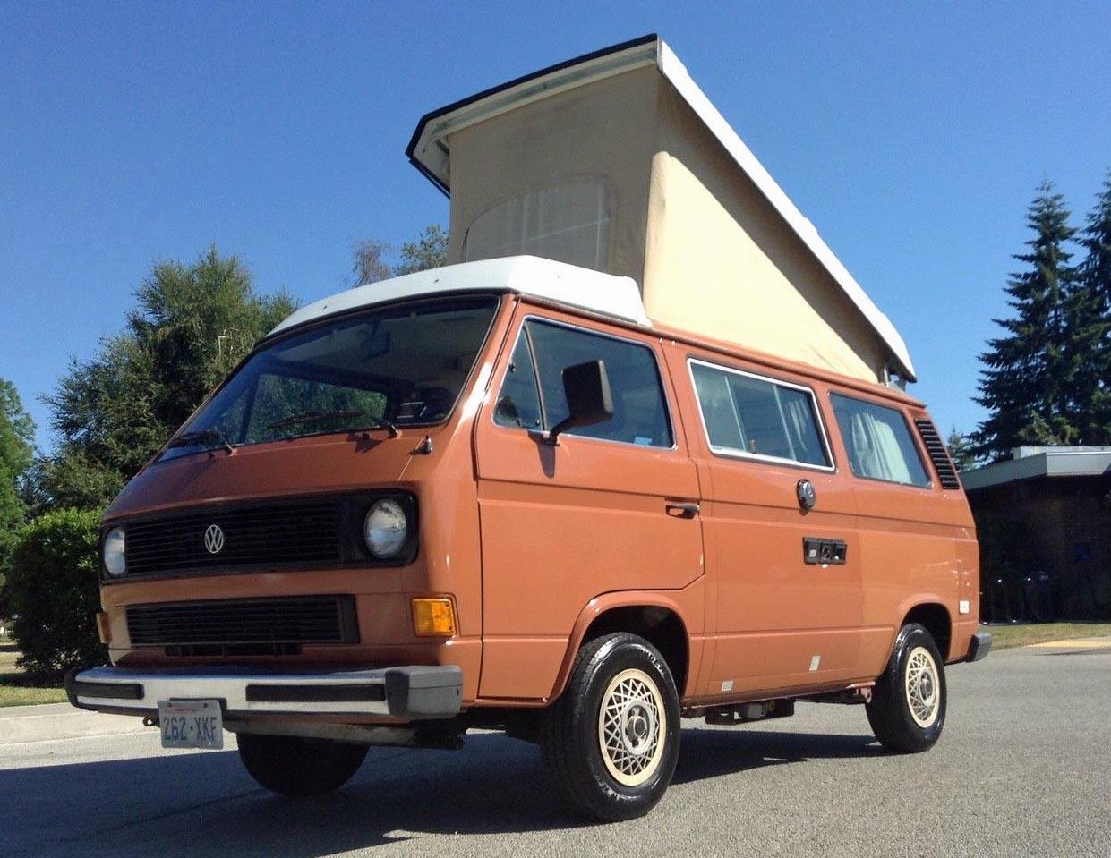 Vw Thing For Sale >> All Original 1983 VW Vanagon Westfalia Camper For Sale