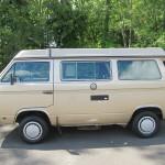 1985 vw vanagon westfalia camper automatic trans 65k miles salem ny WV2ZB0259FH007826 4
