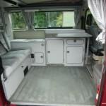 1989 vw vanagon westfalia camper red manual one owner 102k miles 2