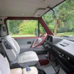 1989 vw vanagon westfalia camper red manual one owner 102k miles 3