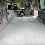 1989 vw vanagon westfalia camper red manual one owner 102k miles 4