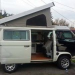 1984 vw vanagon westfalia camper subaru ej27 lynwood wa 19500 white 31