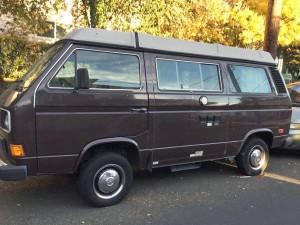 1985 VW Vanagon Westfalia Camper Auction In Portland Oregon