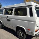 1986 vw vanagon westfalia camper santa fe auction white WV2ZB025XGH012406 2