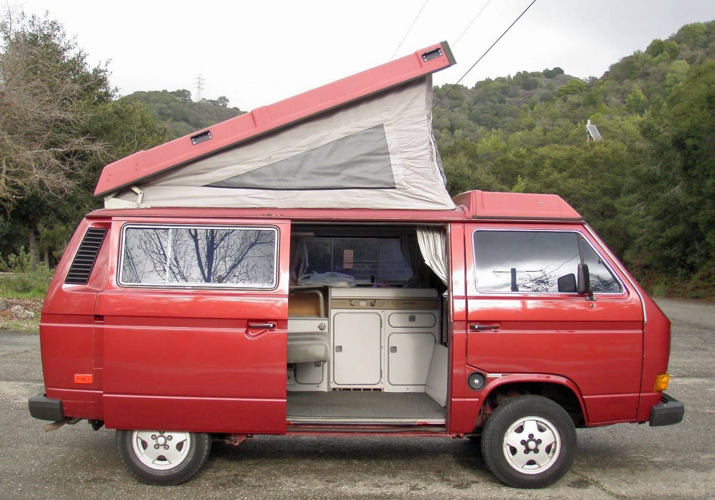 Campers For Sale In Louisiana >> 1987 VW Vanagon Westfalia Camper For Sale In SF, CA