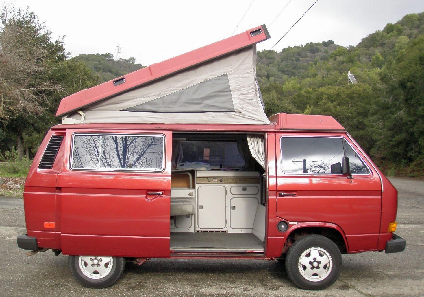 1987 vw vanagon westfalia camper for sale in sf ca. Black Bedroom Furniture Sets. Home Design Ideas