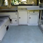 1990 vw vanagon westfalia camper automatic trans 62k miles WV2ZB0256LG102216 long beach ca 4