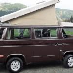 1985 vw vanagon westfalia camper wv2zb0259fh042723 65k miles auction longview or 1