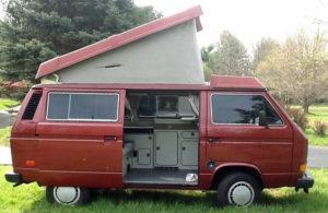 1987 VW Vanagon Westfalia Camper 24k Original Miles Manual Transmission WV2ZB0256HH070028 Auction In New Jersey