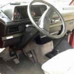 1987 vw vanagon westfalia camper 23k miles WV2ZB0256HH070028 red auction new jersey 4