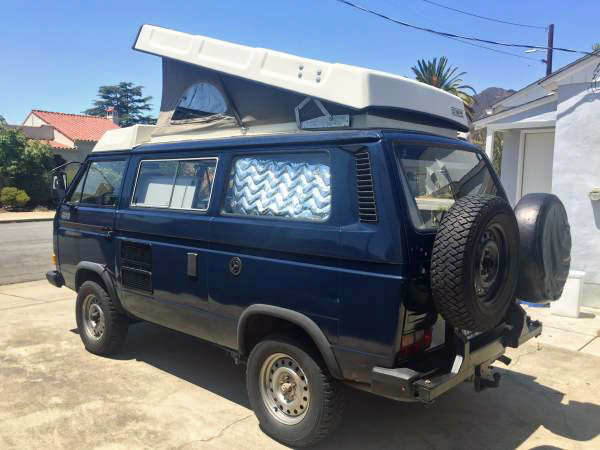 """1991 VW Vanagon Syncro 16"""" Westfalia Camper Diesel Triple Knob $45k in San Louis Obispo, CA"""