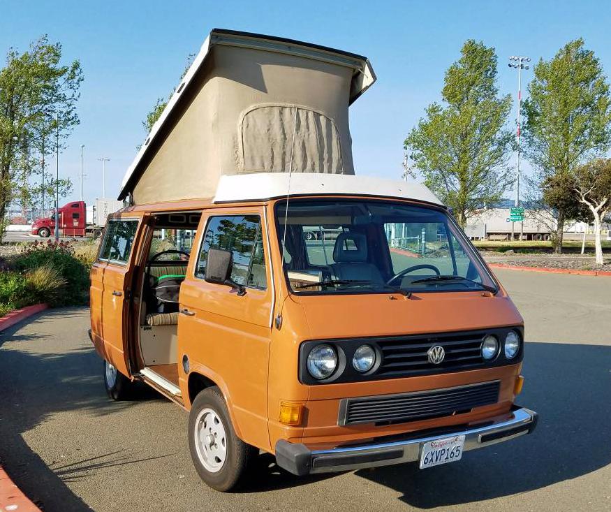 39 82 westy camper w fresh 1 9l turbo diesel 20k in oakland ca. Black Bedroom Furniture Sets. Home Design Ideas