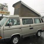 1990 vw vanagon westfalia camper silver 160k miles automatic transmission auction sacramento 1