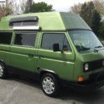 1983 vw vanagon hightop adventurewagon custom green subaru delaware 1