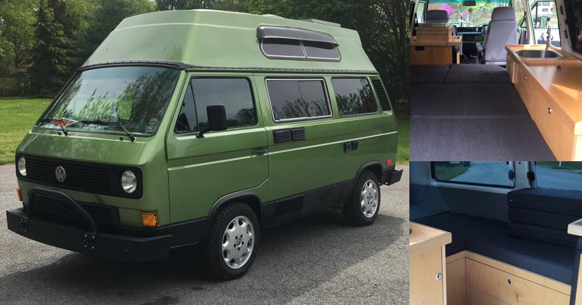 Adventure Subaru Ohio >> 1983 VW Vanagon High Top Custom Adventure Wagon - $18k in Delaware