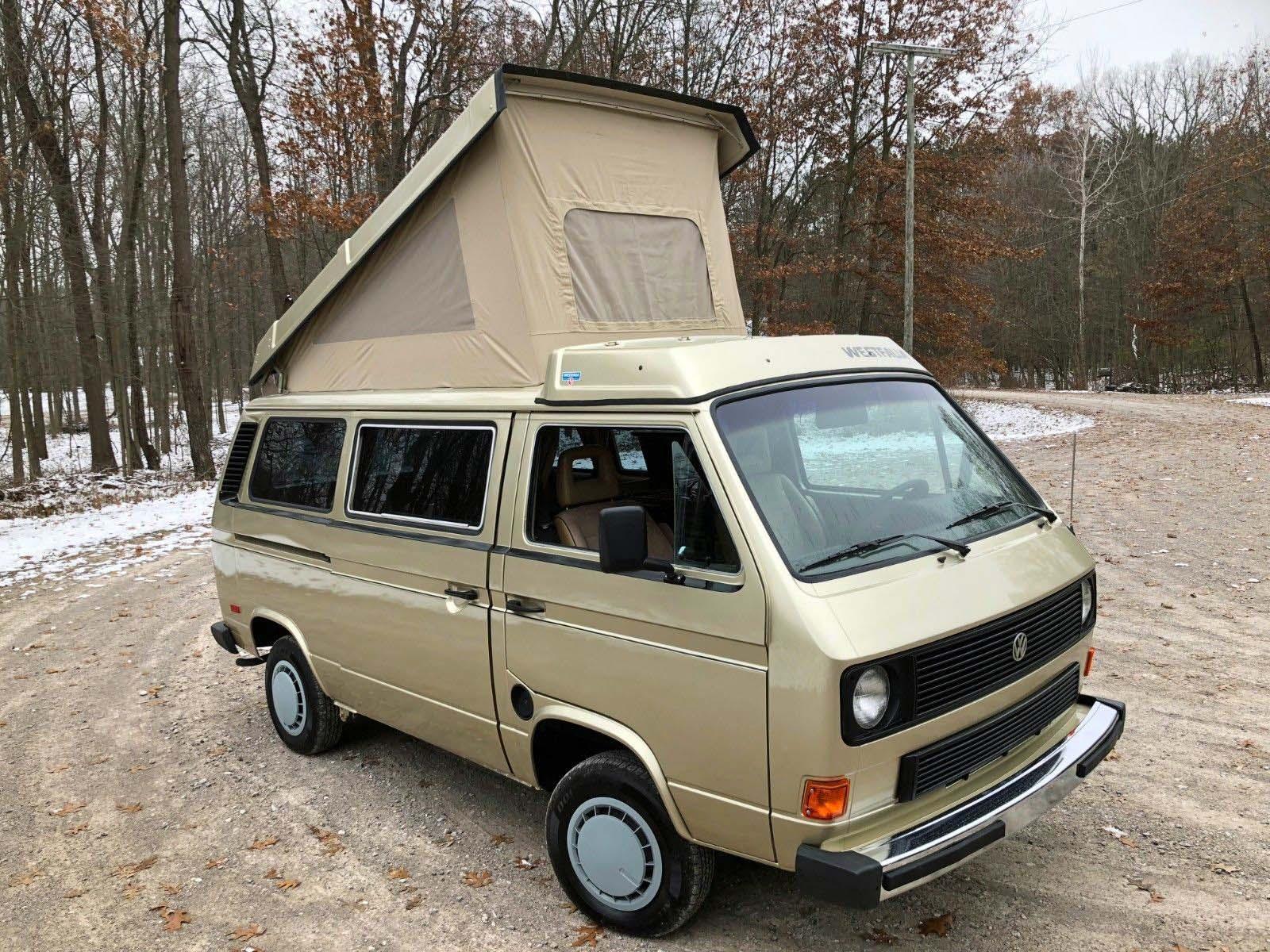 1985 VW Vanagon Westfalia Camper 125k miles michigan WV2ZB0254FH107350