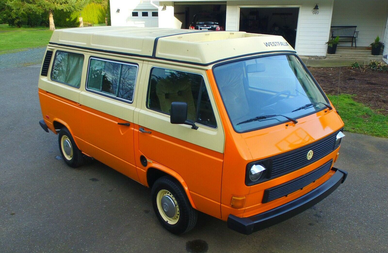 1983 vw vanagon westfalia camper subaru 22 bellingham wa auction WV2ZB025XDH063755