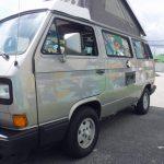 1990 vw vanagon westfalia camper ft lauderdale auction silver WV2ZB0259LH001343 d