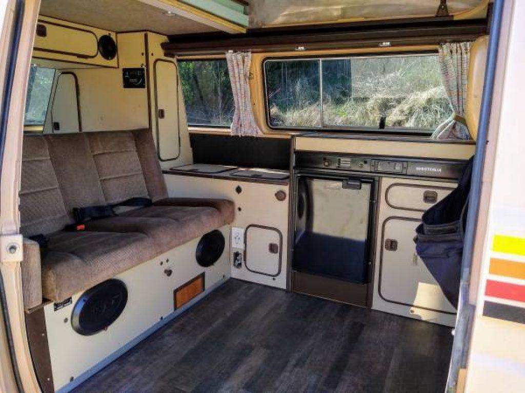 1986 Volkswagen Vanagon Westfalia Interior Kitchenette