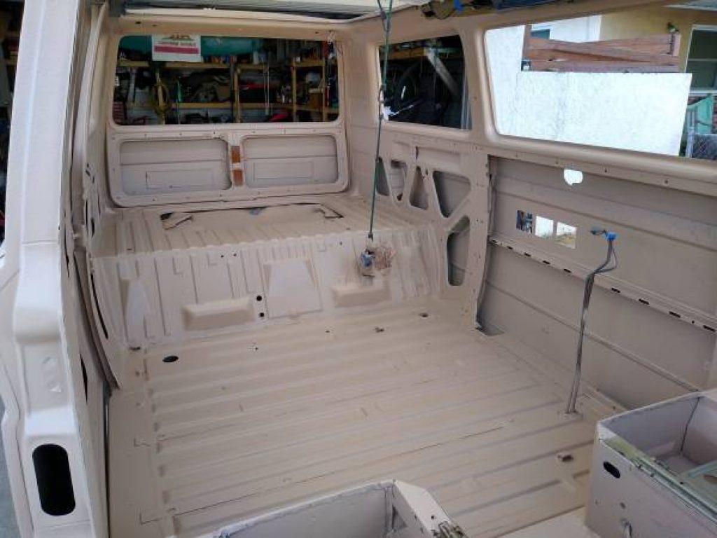 1986 Volkswagen Vanagon Westfalia Restored Interior