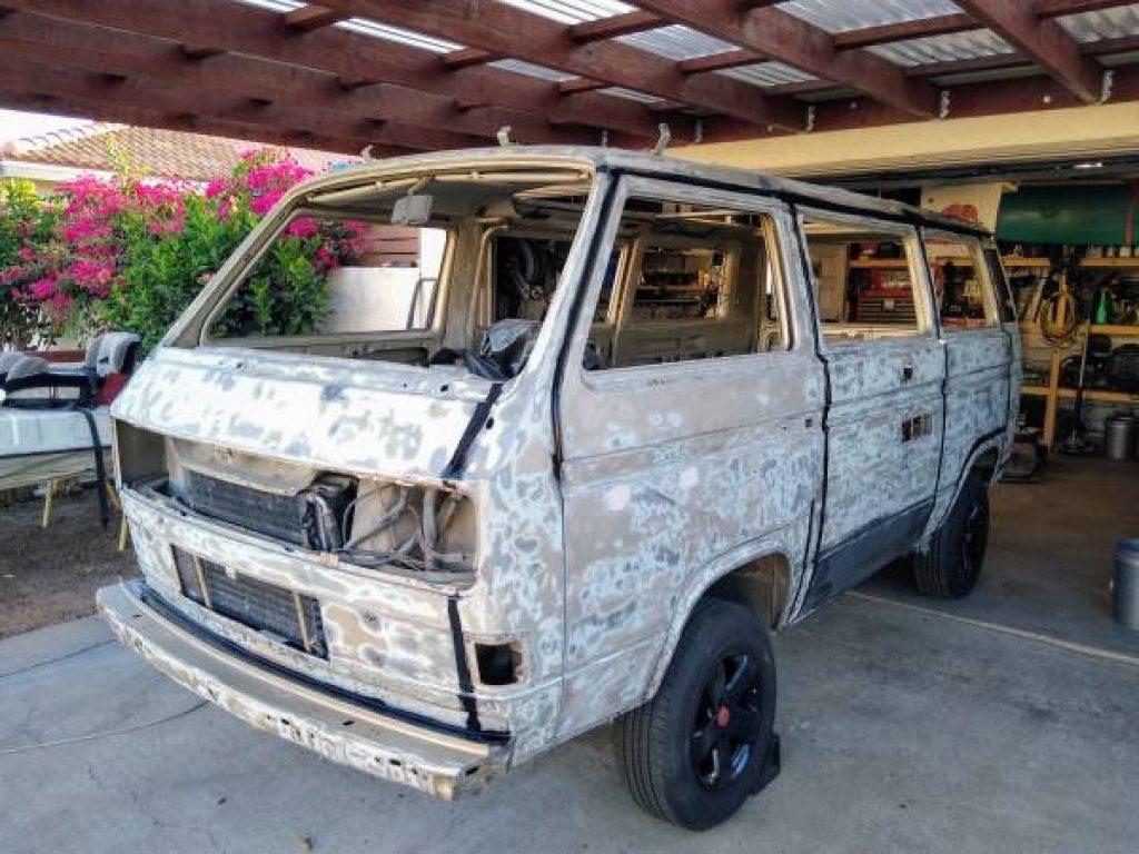 1986 Volkswagen Vanagon Westfalia Stripped Exterior
