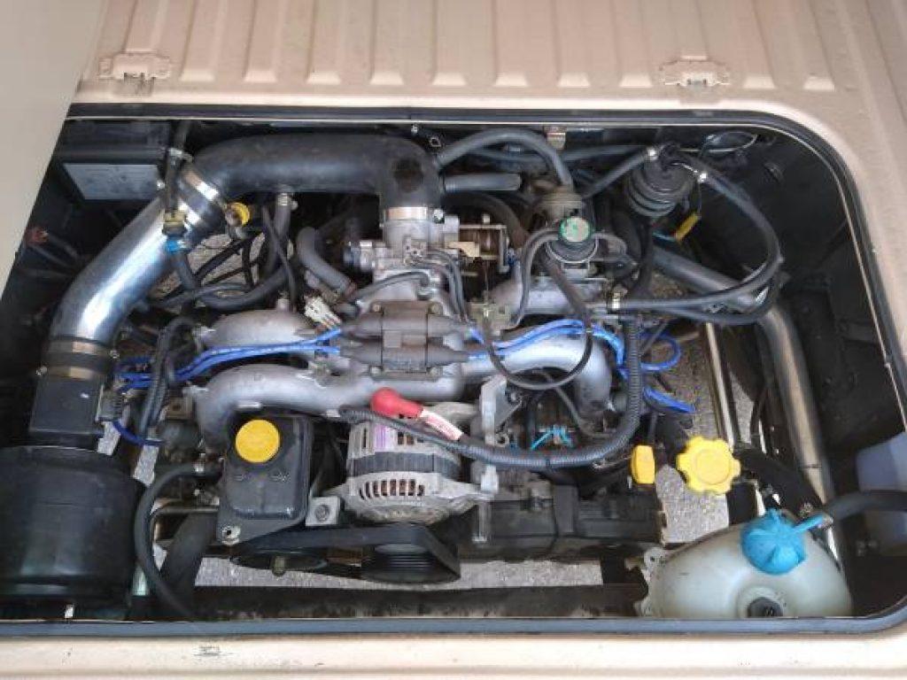 1986 Volkswagen Vanagon Westfalia Subaru Engine