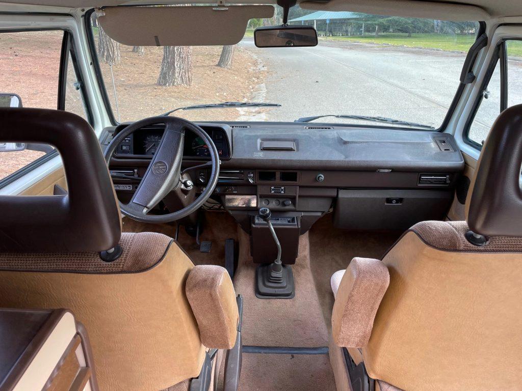 1986 volkswagen vanagon syncro westfalia dash
