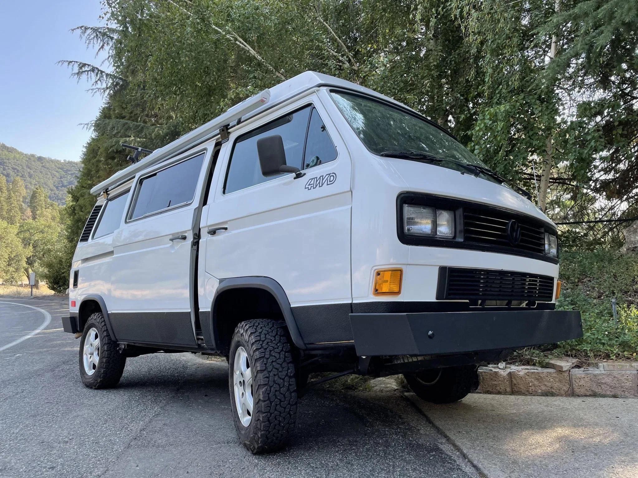 1986 volkswagen vanagon syncro westfalia
