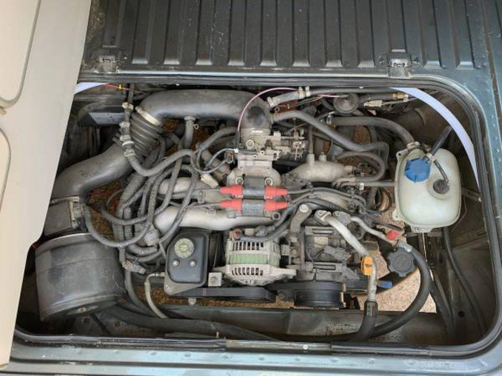 1989 volkswagen vanagon westfalia subaru engine
